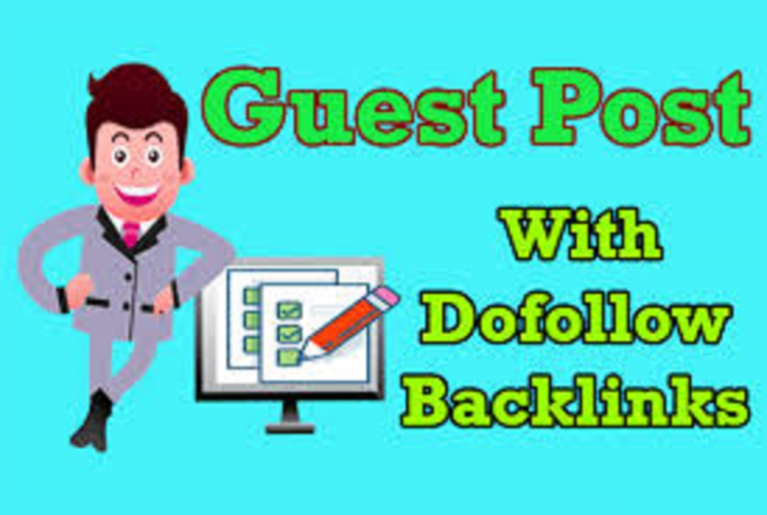 Publish Guest Post High Domain Authority Site With Dofollow Links