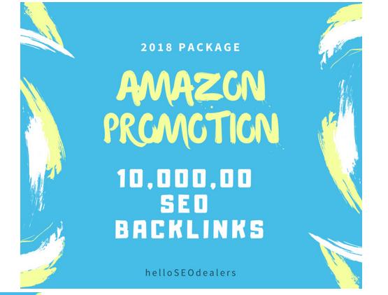 do amazon store promotion through seo backlinks