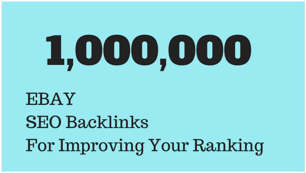 Create backlinks to promote your ebay listing by using SEO