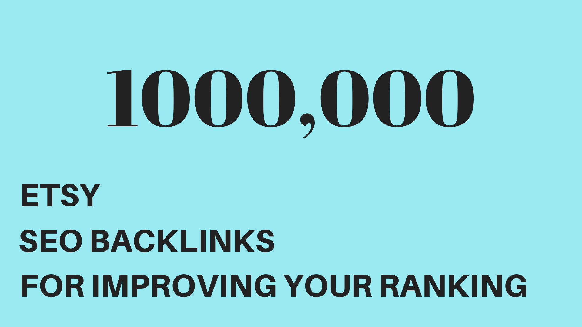 Make backlinks to promote your ebay store