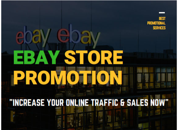 do ebay promotion for more ebay traffic and online store sales