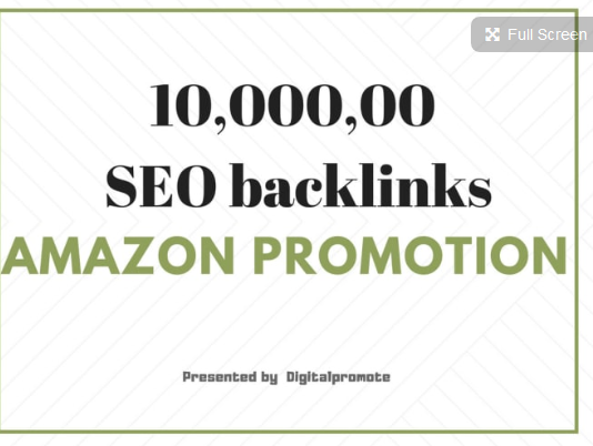 Do HQ backlinks for amazon store promotion,  amazon traffic and sales