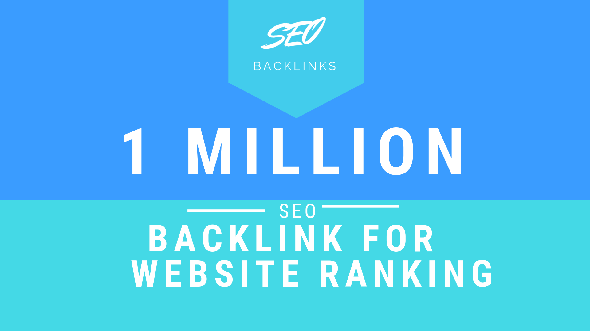 1 Million SEO backlinks to promote your Website Ranking