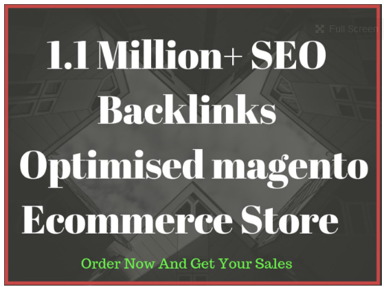 do an SEO optimised magento ecommerce store