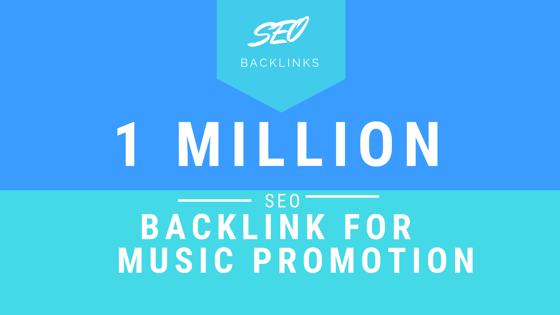 Do 1000,000 SEO backlinks for your music promotion