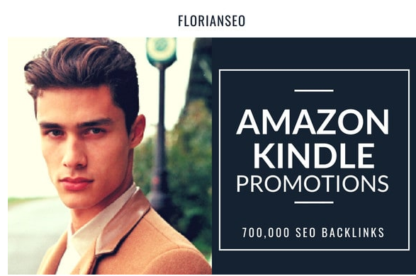 Do amazon kindle promotion by 700,000 SEO backlinks