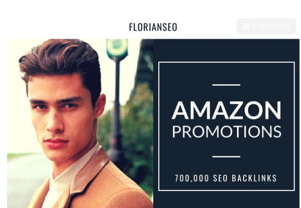 Do amazon listing, store promotion by 700,000 SEO backlinks