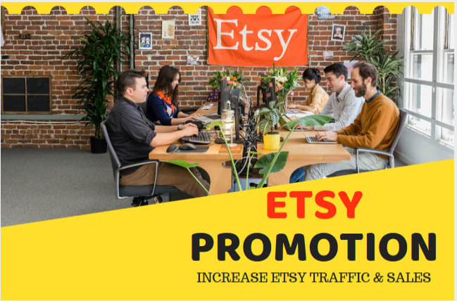 do etsy promotion to grow etsy traffic and ecommerce sales