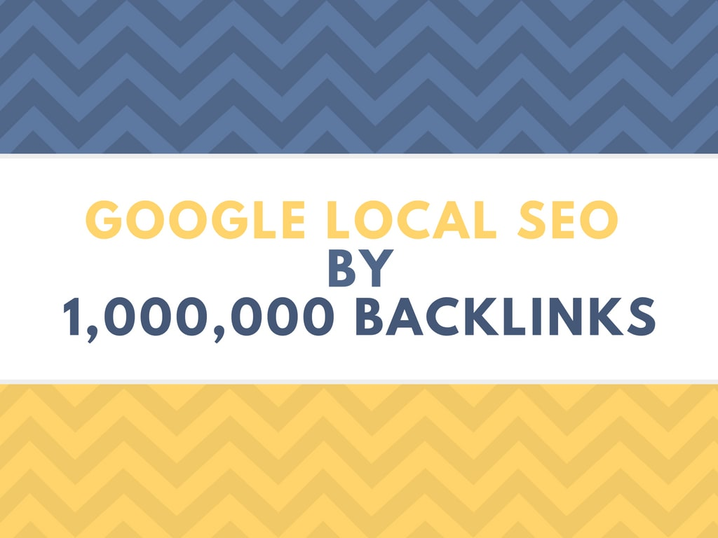 do google local SEO citations by 1 million backlinks