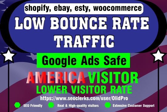 Boost your website with massive America Real and Ads safe webtraffic