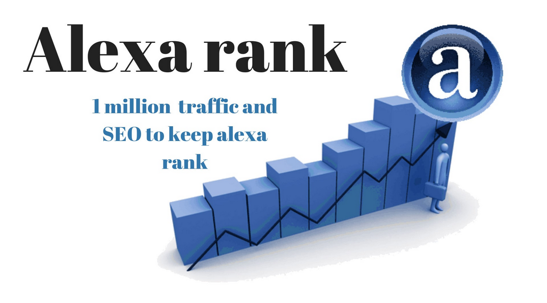 provide traffic and SEO to keep alexa rank 1 million