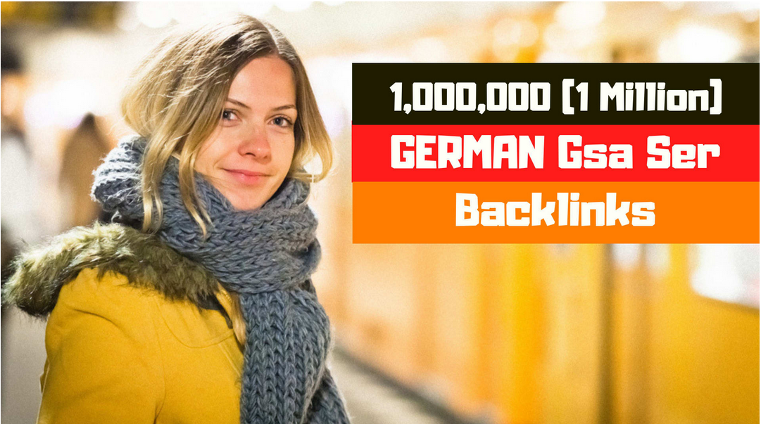 build strong german gsa ser backlinks with quality work