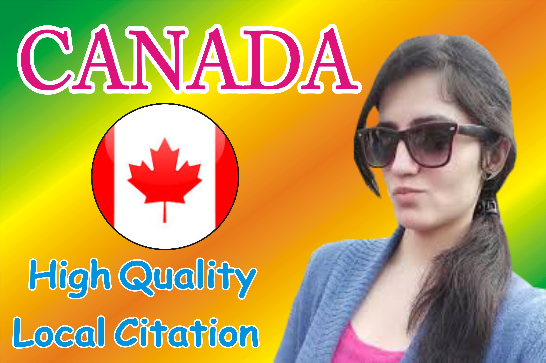 Best Live 50 Canada Local Listings Citations