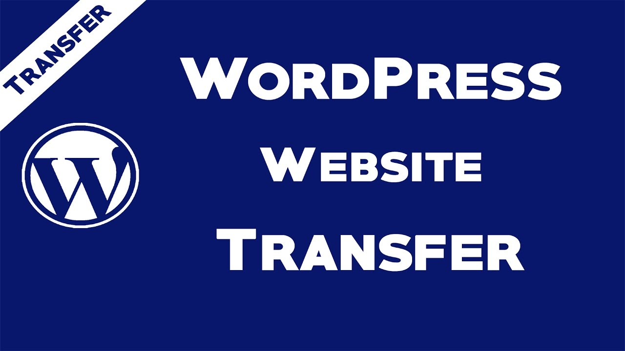 I transfer or clone your wordpress website to new server