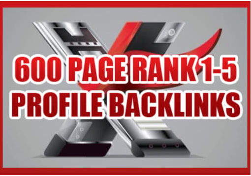 create 600 high page rank profile backlinks