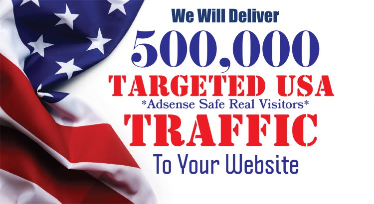 drive real human web traffic from USA to your website