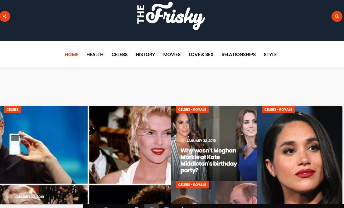 Publish a Dofollow Guest Post On Thefrisky. com DA-80