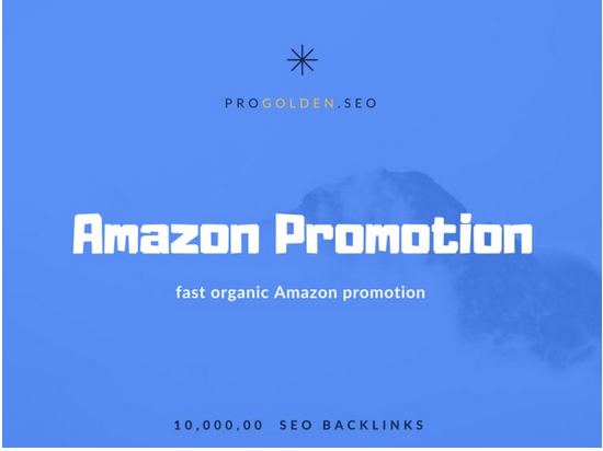 Fast organic amazon promotion with 1m SEO backlinks