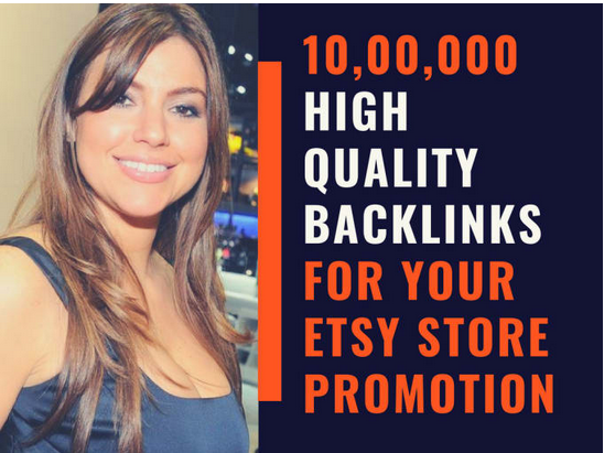 Do 10, 00,000 high quality GSA SER backlinks for your etsy store promotion