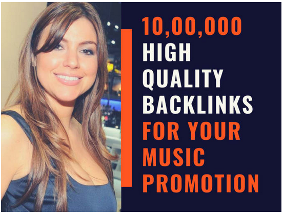 Do promotion of your music by 10, 00,000 SEO backlinks