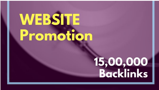 Do 15, 00,000 SEO backlinks for website promotion