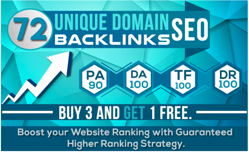 72 Unique Domain SEO Backlinks With Pr10 On Da100 Sit...