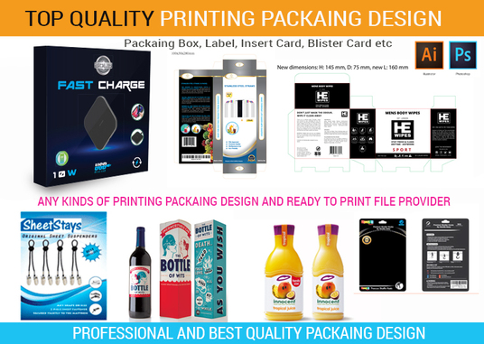 Design Professional Product Packaging