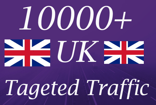 10000 UK TARGETED Website Traffic to your web or blog site