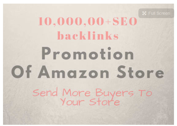 create high quality 10,000, 00 backlinks for promotion of amazon store