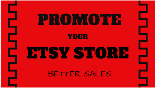 Promote your etsy shop web store