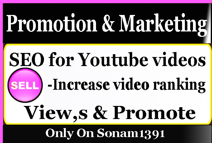 Promote YouTube Video Marketing with social Media Pro...