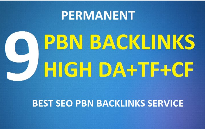 do 9 permanent pbn backlinks