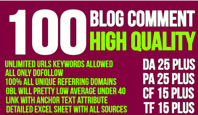 get 100 high trust flow and citation flow dofollow backlinks on high da pa
