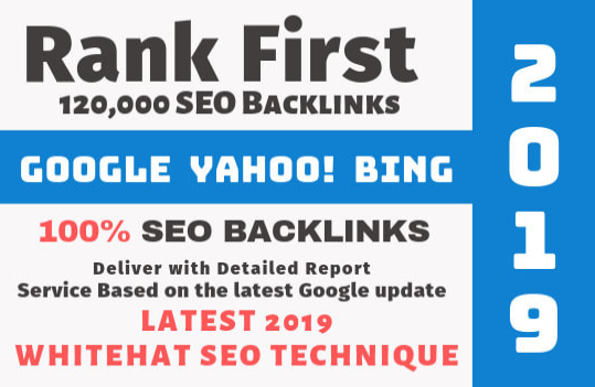 create 120,000 website seo backlinks for ranking in google promotion