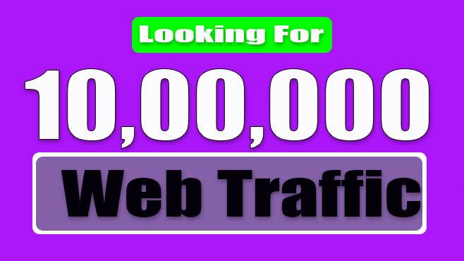 bring real web traffic