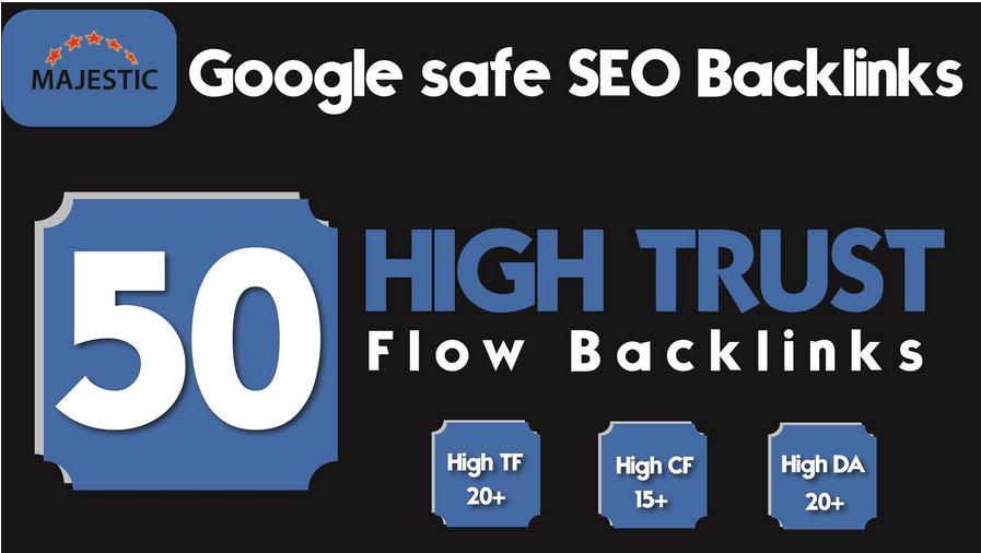 give 50 high da pa homepage backlinks