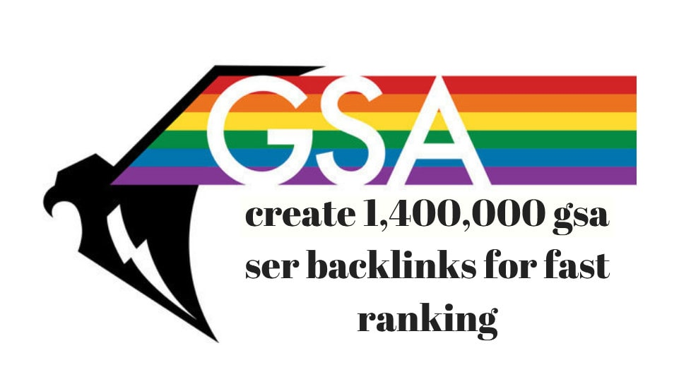 create 1,400,000 gsa ser backlinks for fast ranking