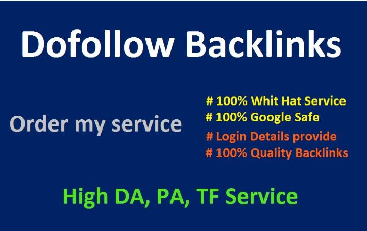 create 45 dofollow,  seo,  backlinks