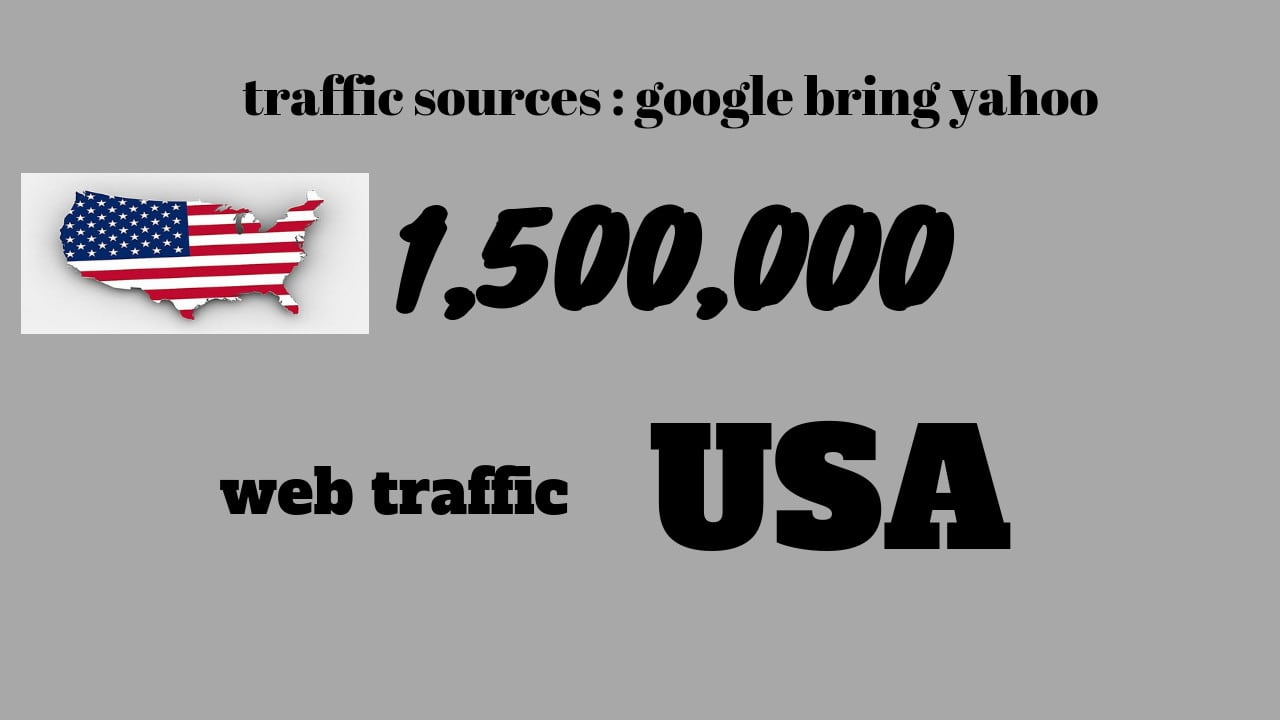 increase your website traffic targeted from usa