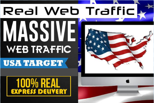 drive direct search real USA web traffic to website
