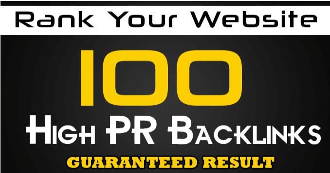 create 250 high da SEO backlinks ,rank you first