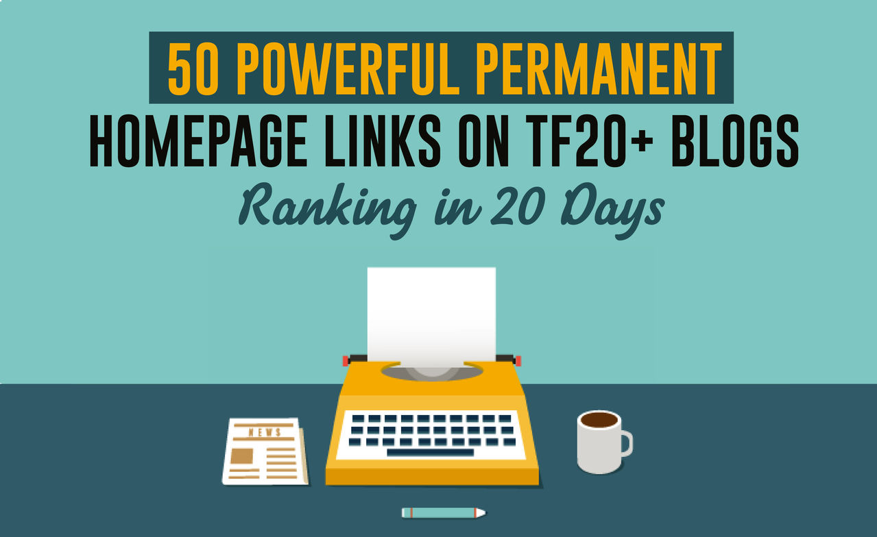 Homepage 50 Permanent PBN backlinks and 3000 2nd Tire Contextual Backlinks