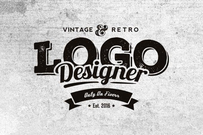 Design Awesome Retro Vintage Logo
