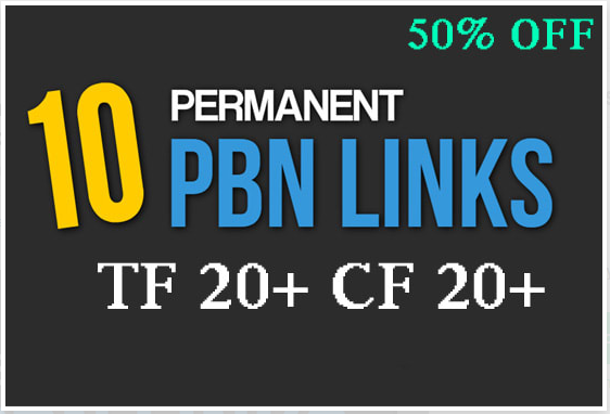 10 Do-follow Pbn Posts On High DA PA Tf Domains In 24 Hour