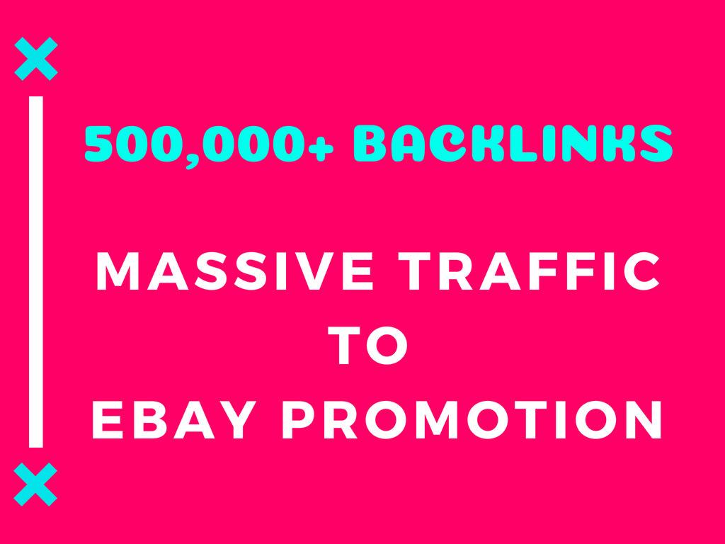 drive massive traffic to ebay promotion or marketing