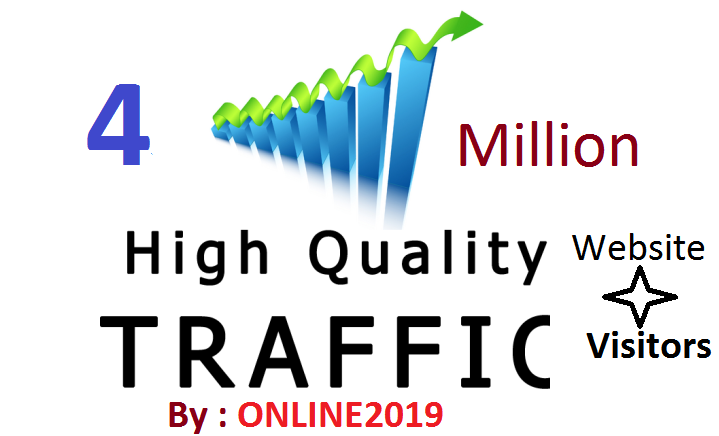4 Million Worldwide Website Traffic Visitors For Online Marketing & Business Promotion Boost SEO Website Traffic & Share Bookmarks Improve Google Ranking Factors