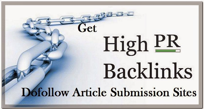 Generate manually 30 high PR article Posting
