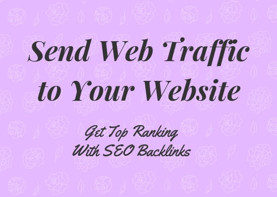 send web traffic to your website