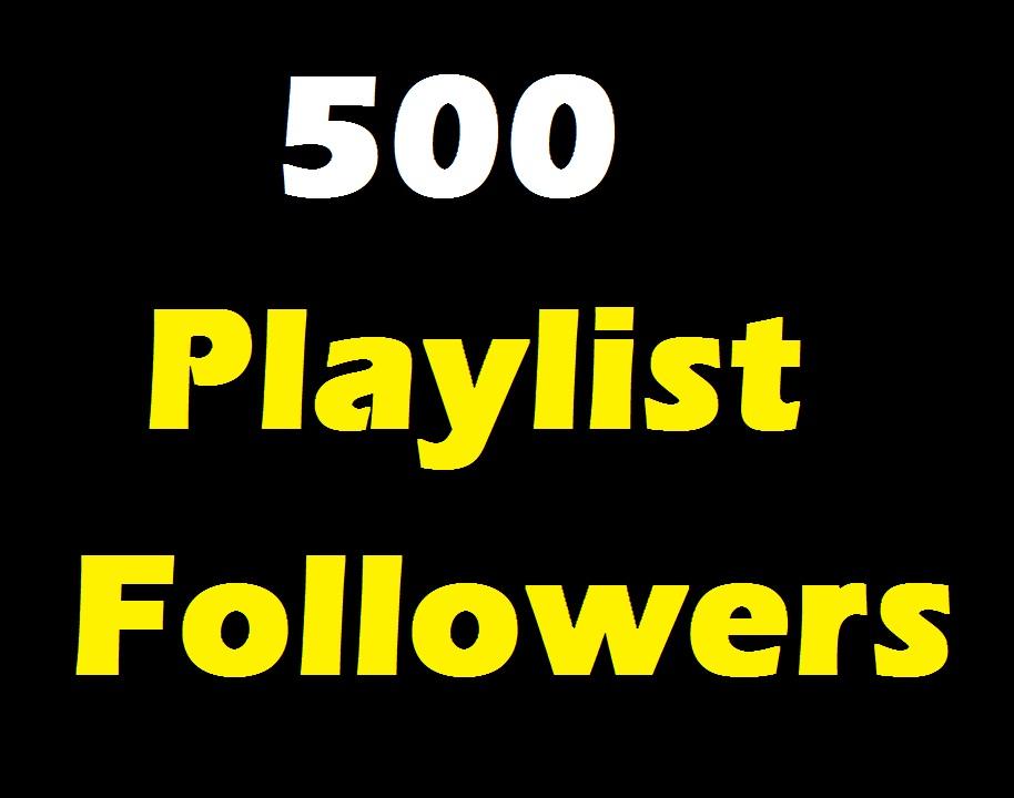 Add 500 Profile And Playlist Artist followers