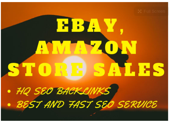 make high definition backlinks for ebay, amazon store sales